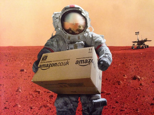 Amazon delivery photo