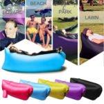 De zelf-opblaasbare sofa: lazybag, laysack, hangout of laybag?
