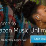Amazon Music Unlimited: probeer het 30 dagen gratis