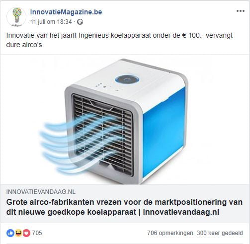 CoolAir, Artic Air of Cool Air 24? Laat je niet vangen…